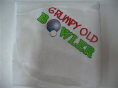Bowls Cloth - Grumpy Old Bowler