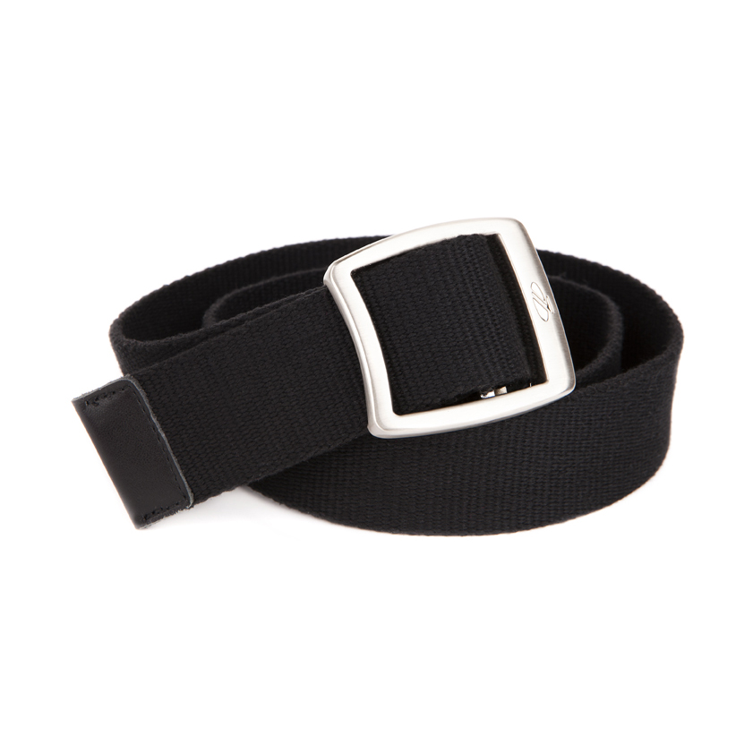 Ladies Canvas Belt Black
