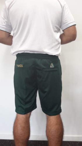 Bowlswear Australia drawstring shorts Bottle Green