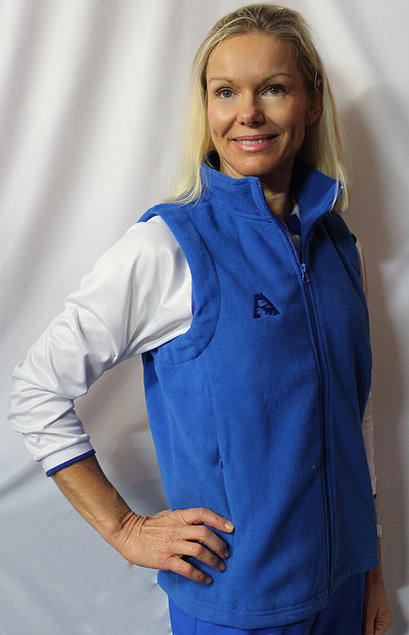 Holland Park Ladies fleecy vest.