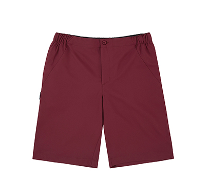 City Club Drawstring Shorts Maroon