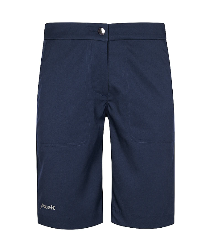 Aceit Ladies Tailored Shorts Navy