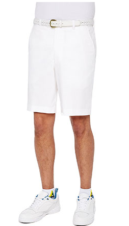 City Club Bowls Shorts White
