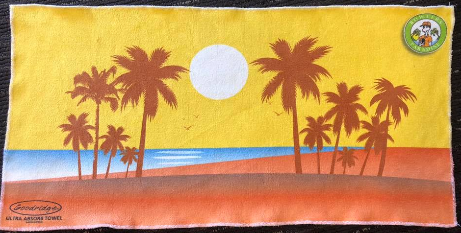 "Bowlers Paradise Absorb Towel ""summer scene'"