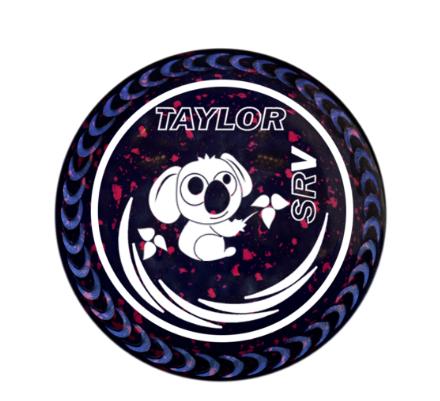 Taylor SRV Dark Blue/Magenta.