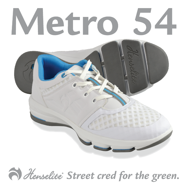 Henselite Ladies Metro 54 Shoes white
