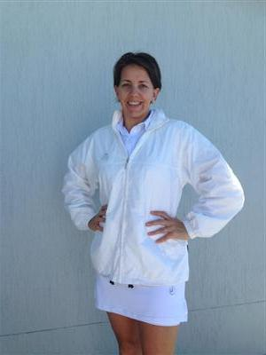 Hunter Unisex Lined Rain Jacket White