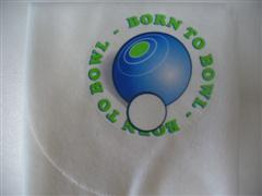 Bowling Cloth - Born to Bowl