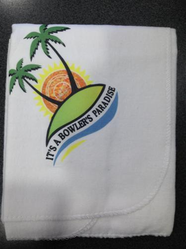 Its a Bowlers Paradise Bowls Cloth